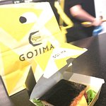 Go Gojima star cheeseburger lunch