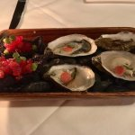 Oysters and cracker