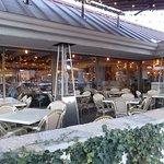 Crispelli's, Woodward @ 12 Mile, Royal Oak MI. Outdoor seating.