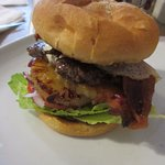 This is the Burger with the Lot