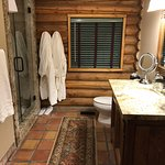 The bathroom in the Cottage