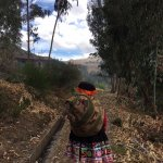 One of the locals leading us on a hike from their Andean village to the next.