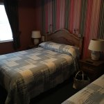 Our bedroom- One double bed, one twin bed