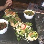 Wrap avec salade de quinoa