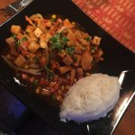 Number 50 - Tofu, veggies & rice