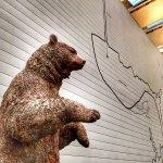 Reproducción de oso de las cavernas