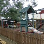 Large outdoor play area