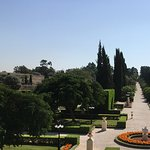 View of Baha'i gardens near Acre (Acko)