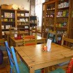 Tables in the deli