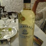 White wine CARAVELLA.. Super wine..