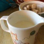 Cute milk jug