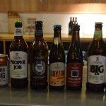 A wide variety or ales to try.