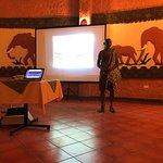 Educational talk about Masai Mara