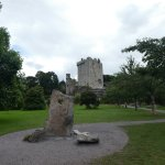 Approaching Blarney Castle