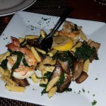 Shrimp & Scallop Amalfi specialty dish