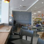 Eating and drinking area