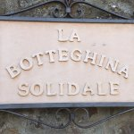 The store sign: La Botteghina Solidale