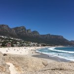 Camps Bay beach and the Apostles