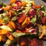 Chorizo & Potato Salad (overdone)