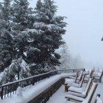 Third day of snowfall