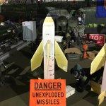 Missile and Militaria display