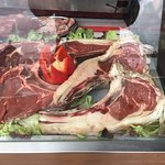 Expositor de carnes