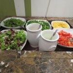 Average salad bar