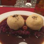 Goose dumplings