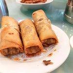 Deep Fried Taro Spring Roll