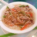 Shredded Pork & Preserved Vegetable Noodle