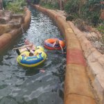 Lazy river very slow and freezing