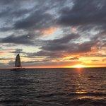 Sunset aboard Pride of Maui