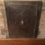 The home was built by Col. William Hankson. His safe is in what is used as a dining room.