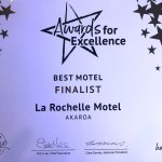 We were recently selected as a one of three finalist for best motel by Hospitality NZ!!