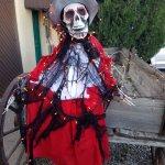 Halloween wagon rider