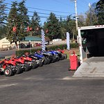 We also rent ATV's from the Ocean Breeze Motel. Book directly from the website, Stay and Play.