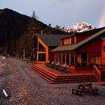 Kenai Fjords Wilderness Lodge guest lodge.