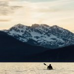 Kayaking in Resurrection Bay is easily accessible and affordable.
