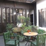Traditional courtyard