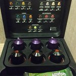 Nespresso machine supplies in my Executive room