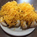 coneys with mustard and onions. possibly the best coney i've ever eaten