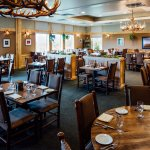 Foraker Dining Lounge with views of Denali