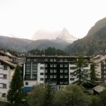 Hotel Dufour Alpin: View from South Double Room