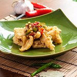 Chef Zhu's Salt & Pepper Squid