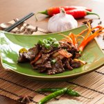 Chef Zhu's Oyster Sauce Beef