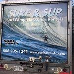 Surf camp truck