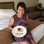 Birthday surprise and breakfast