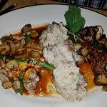 Chicken Madiera and Steak Dianne
