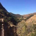 Overlook down into Wildwood Canyon