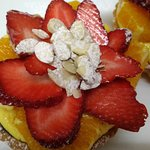 Our Chef's special.....Fruit tart...getting popular